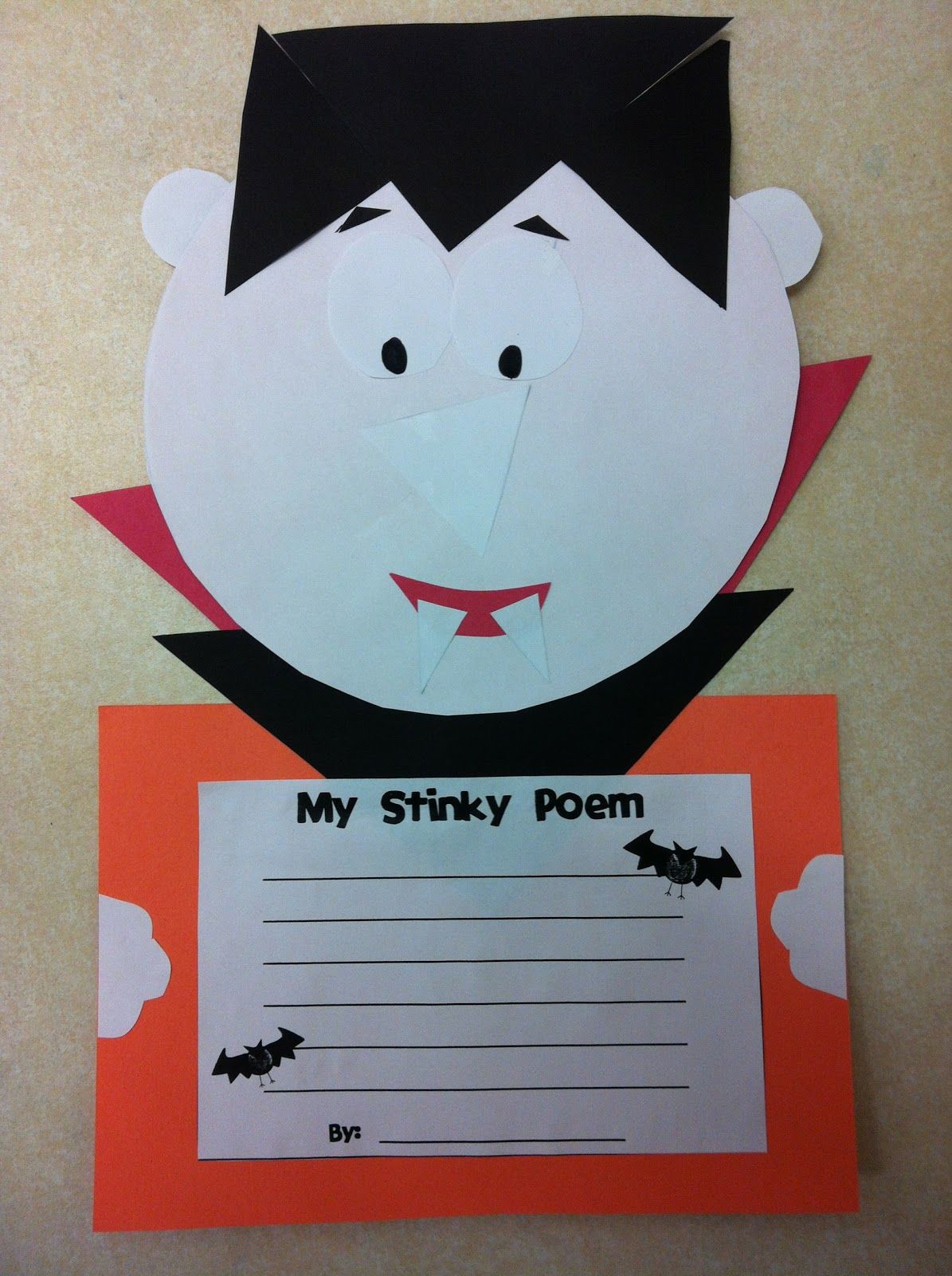Today In Second Grade Halloween Craftivity