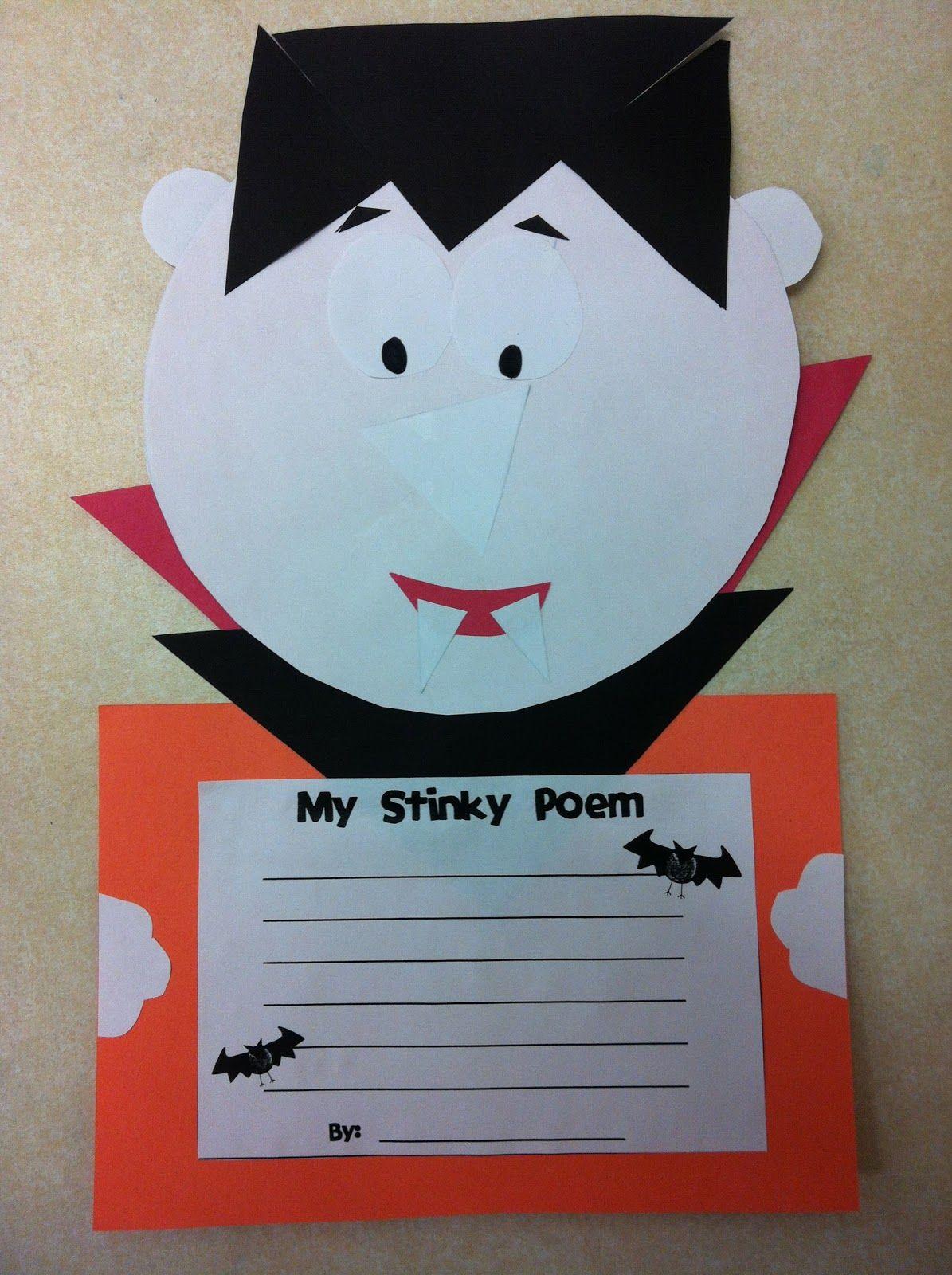 Today In Second Grade Halloween Craftivity