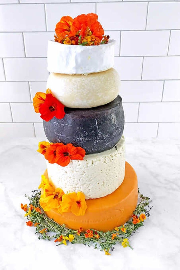 Costco is selling a 5tier wedding cake made of cheese