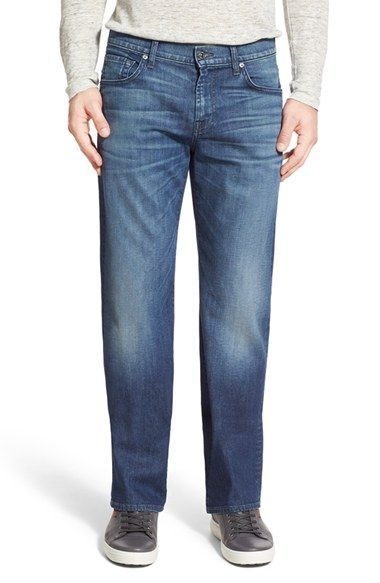 7 For All Mankind® 'Austyn' Relaxed Fit Jeans (Stockton Blues)