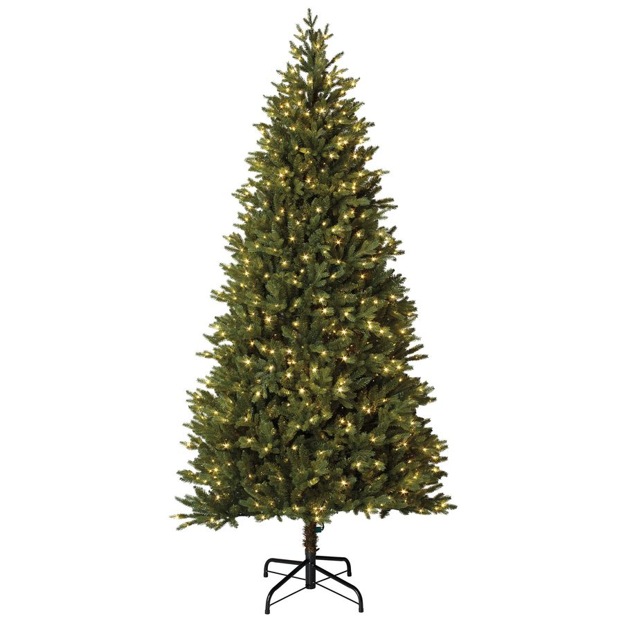 Holiday Living Christmas Tree.Holiday Living 7 5 Ft Pre Lit Montaspruce Slim Artificial