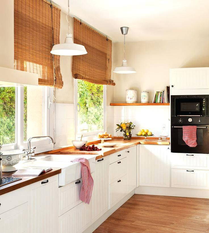 Best kitchen ideas on cottage kitchens inspiration and - Cocina pequena ikea ...