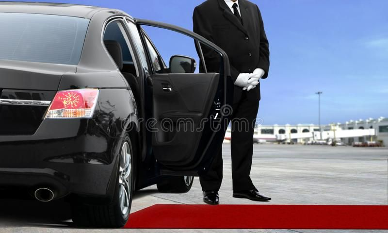 Limo Driver Waiting At The Airport Runway Spon Waiting Driver Limo Href Runway Ad In 2020 Wedding Limo Service Limo Ride Limo