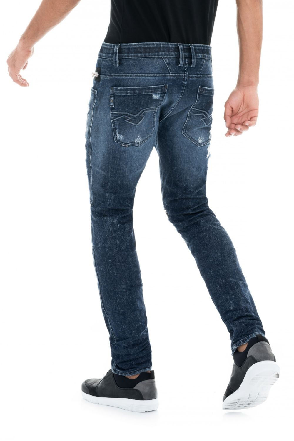 Salsa Jeans - Slim Andy pants with laundry effects
