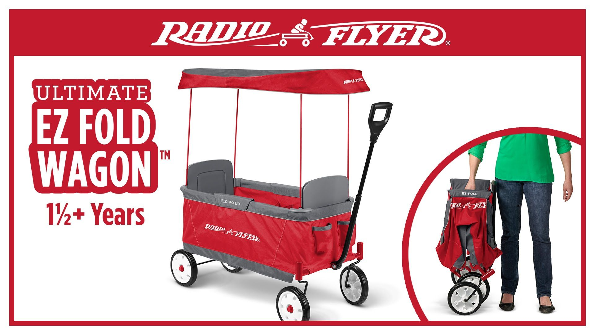 Radio Flyer Ultimate EZ Fold Wagon™ This Wagon looks very