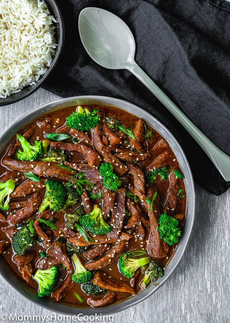 Easy Instant Pot Beef and Broccoli