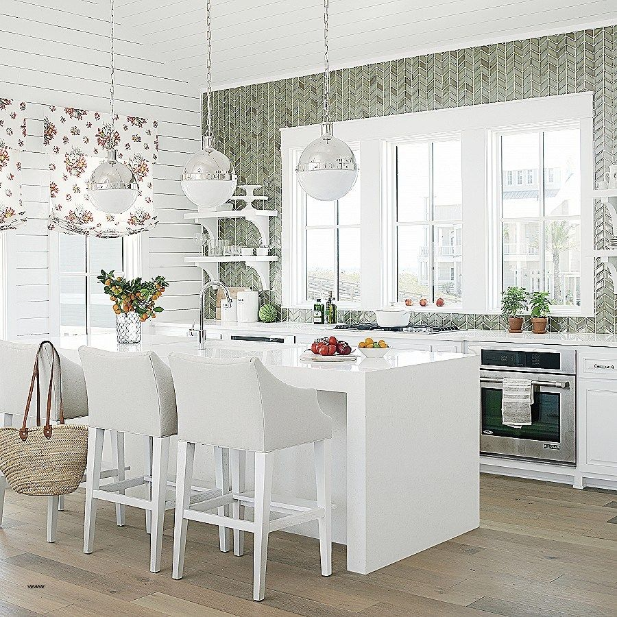 Inside A Tiny Florida Cottage Full Of Tropical Colors: Smashing Shabby Kitchen Decorating Ideas Fresh Open Living