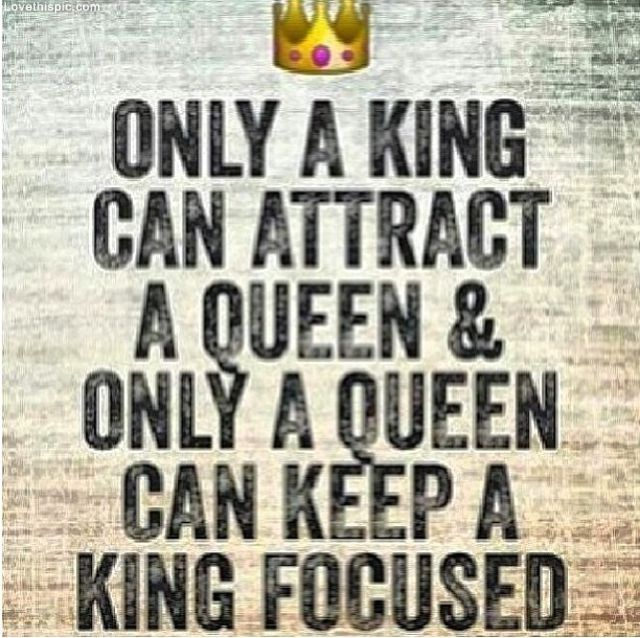 Good Only A King Attract A Queen Pictures, Photos, And Images For Facebook,  Tumblr, Pinterest, And Twitter