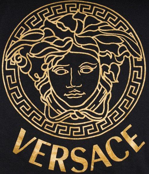 Medusa Versace Fashion Versace Grey Art Print