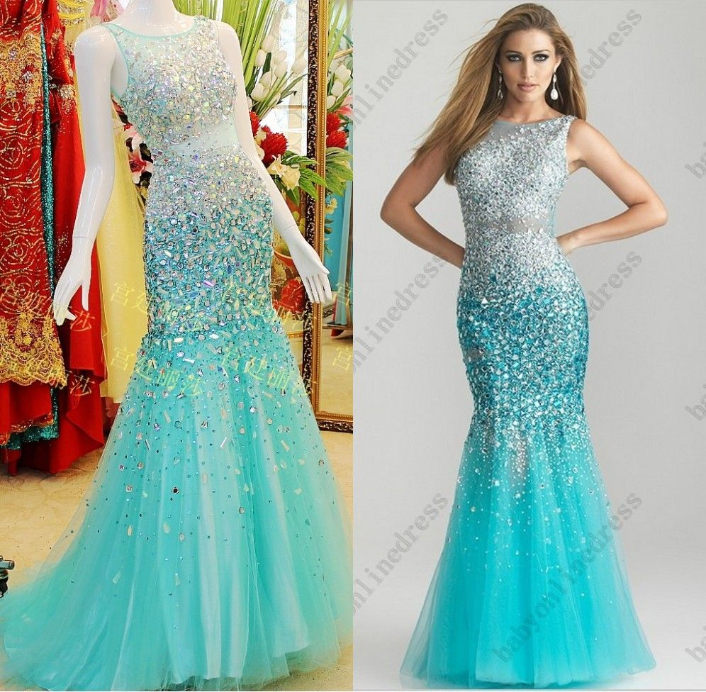aqua blue prom dresses - Google Search | Prom Dresses | Pinterest ...