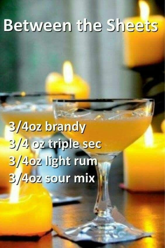 alcoholic drink names