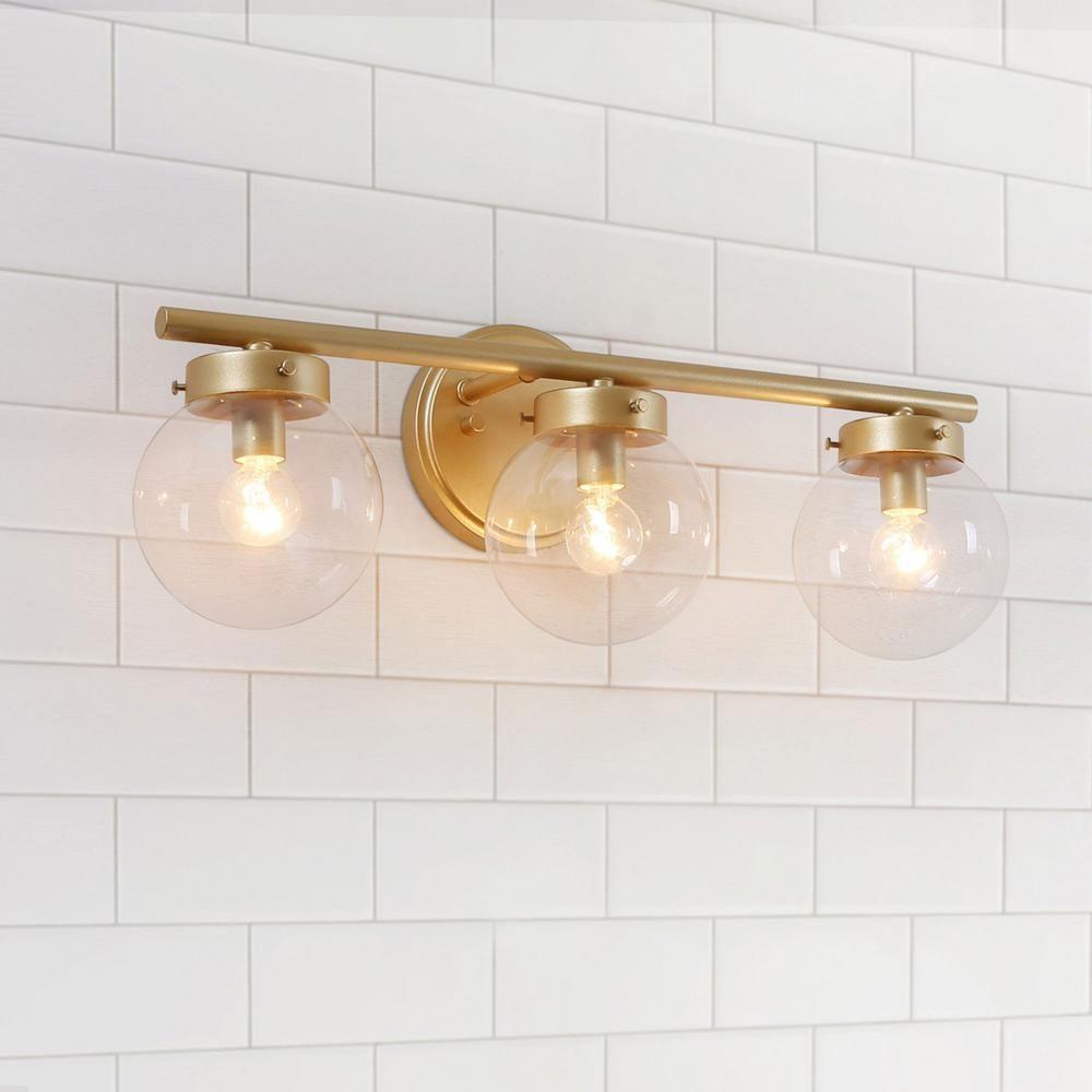 38 Gold Bathroom Light Ideas Livingroomreference