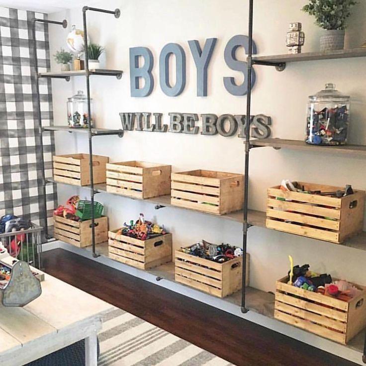 La superbe salle de jeux de M + B Design! décor de salle de jeu pour enfant, conception de sa...
