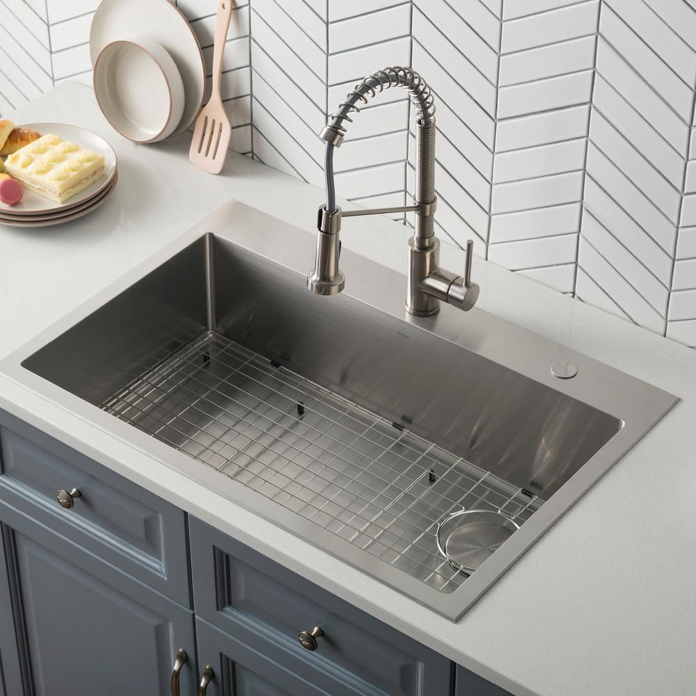 Franke Dual Mount Composite Granite 33 In 1 Hole Double Bowl Kitchen Sink In Mocha Eddb33229 1 The Home Depot Composite Kitchen Sinks Granite Kitchen Sinks Black Kitchen Sink