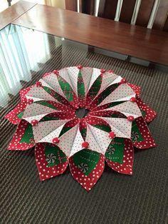 Photo of Christmas DIY: Fold & # 39; n & # 39; stitch wreath Fold & # 39; n & # 39; stitch wreath. #christmasdiy #christm …