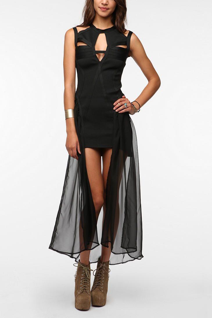 Unif godspeed cutout dress