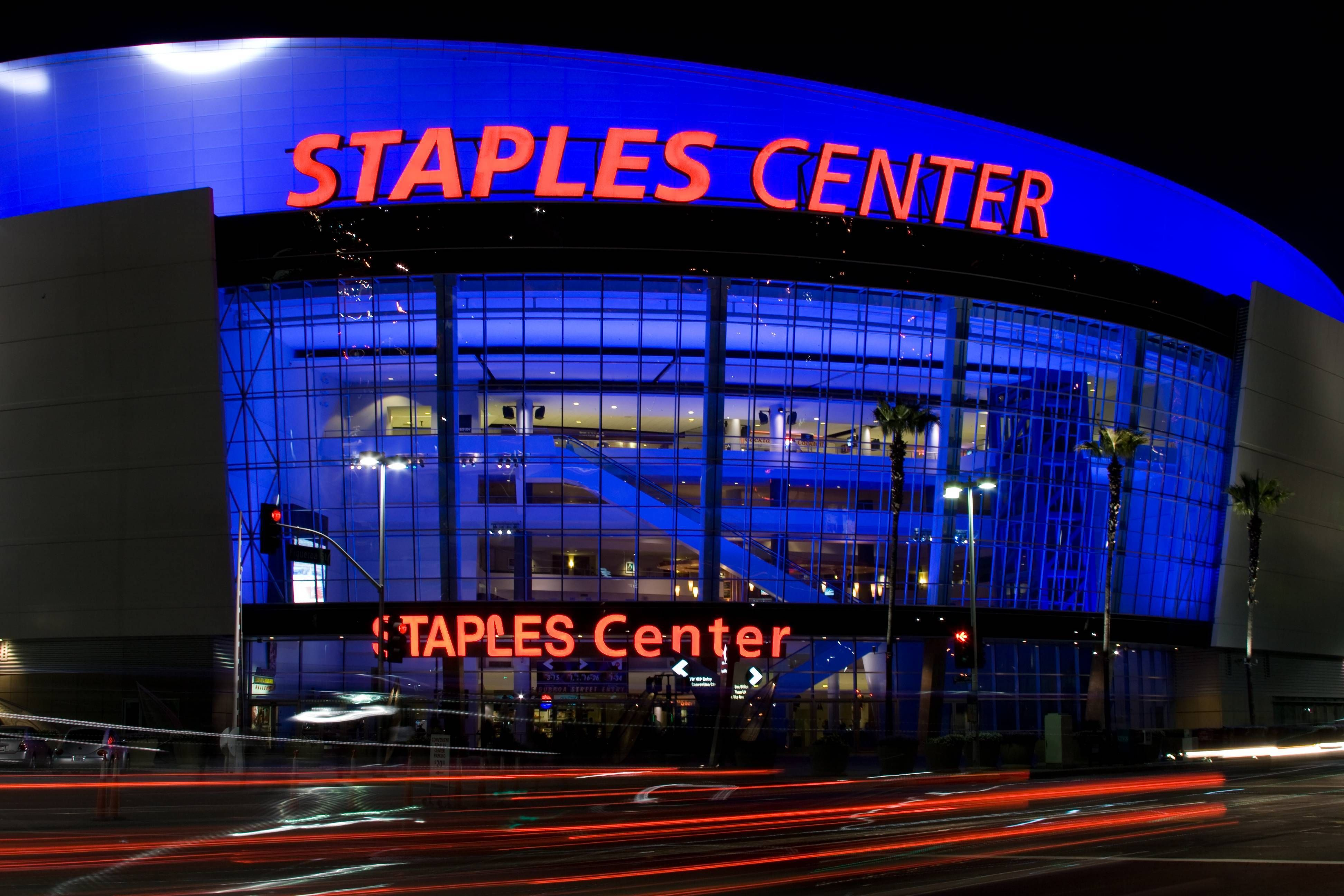 Staples Center Multi purpose Sports Arena Home of the LA Lakers Clippers and Kings Places I have been to