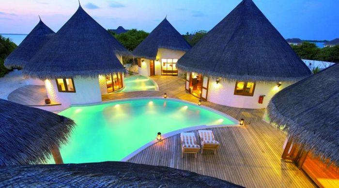Luxus pool  luxus pool ein schöner luxus pool | Luxuriöse Designs von Pool ...
