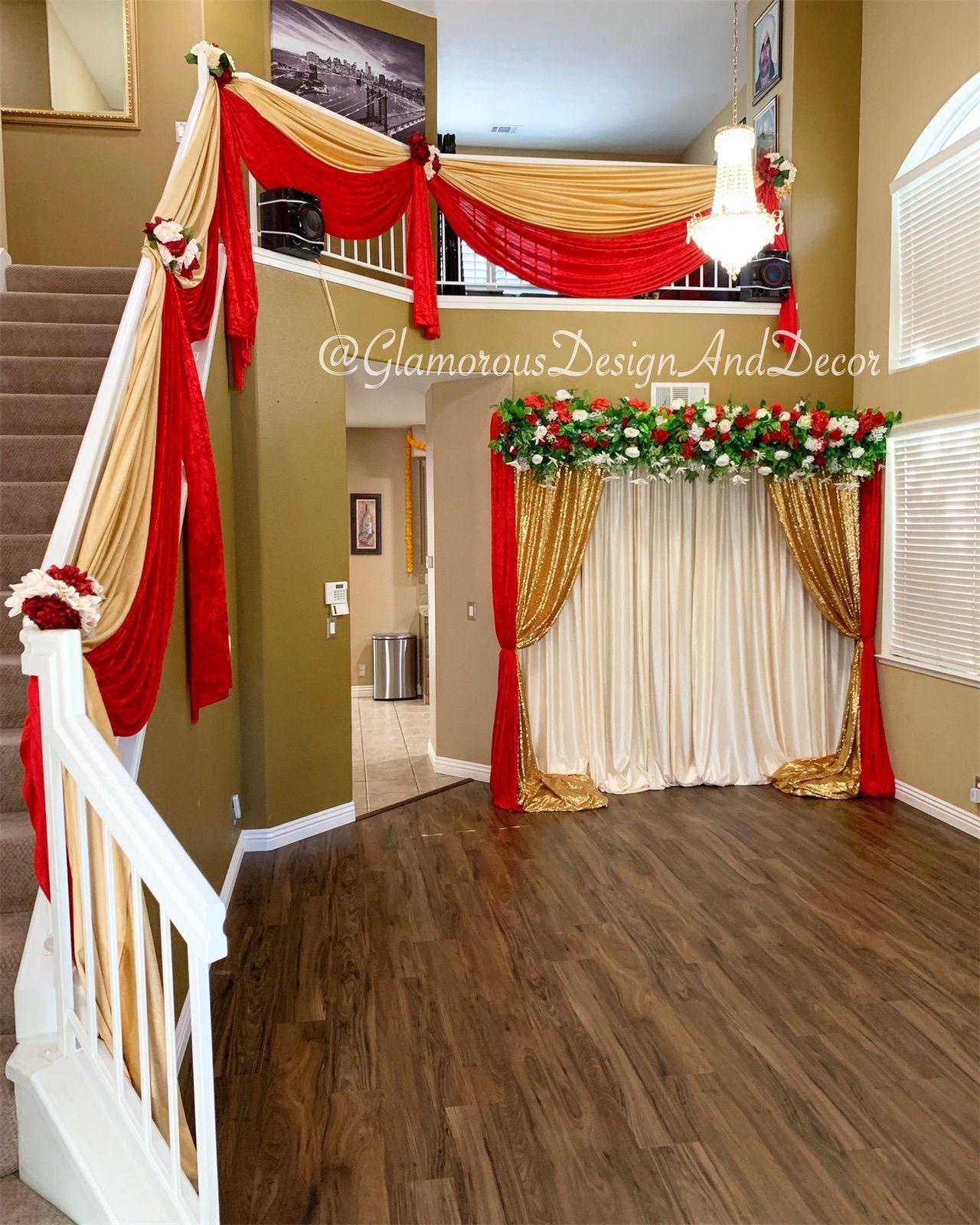 Indian Wedding House Decor Home Decor Home Wedding Decor