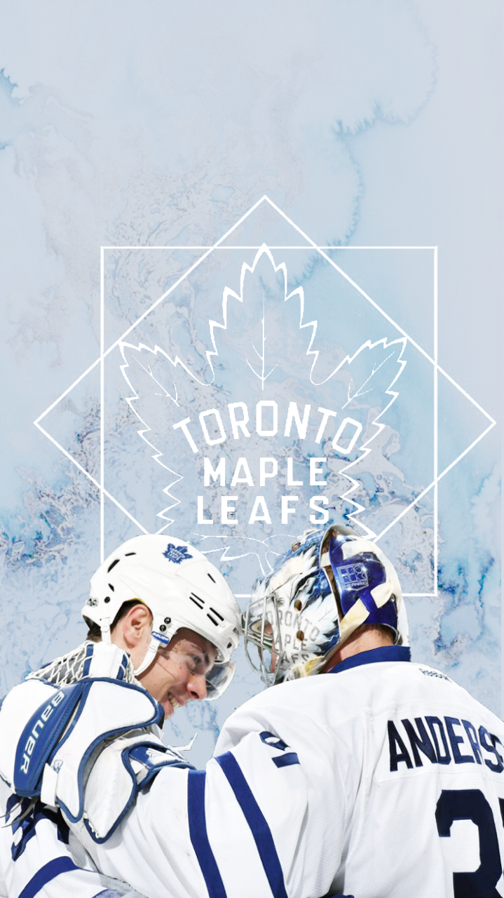 Auston Matthews Frederik Andersen Maple Leafs Wallpaper Toronto Maple Leafs Wallpaper Montreal Canadiens Hockey