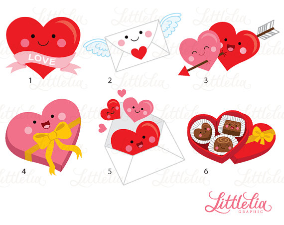 valentine kawaii love kawaii valentine clipart 16096