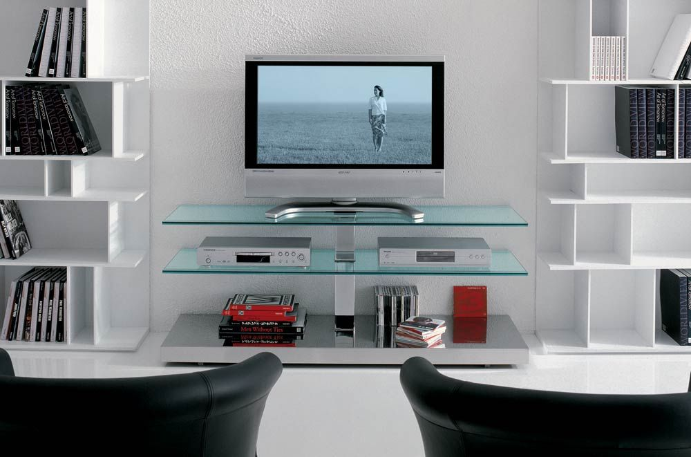 Drawing Of Perfect Ideas Of Tv Stand To Aggress Interior With Satisfaction Glass Tv Stand Interior Design With Glass Bedroom Tv Stand #tv #table #for #living #room