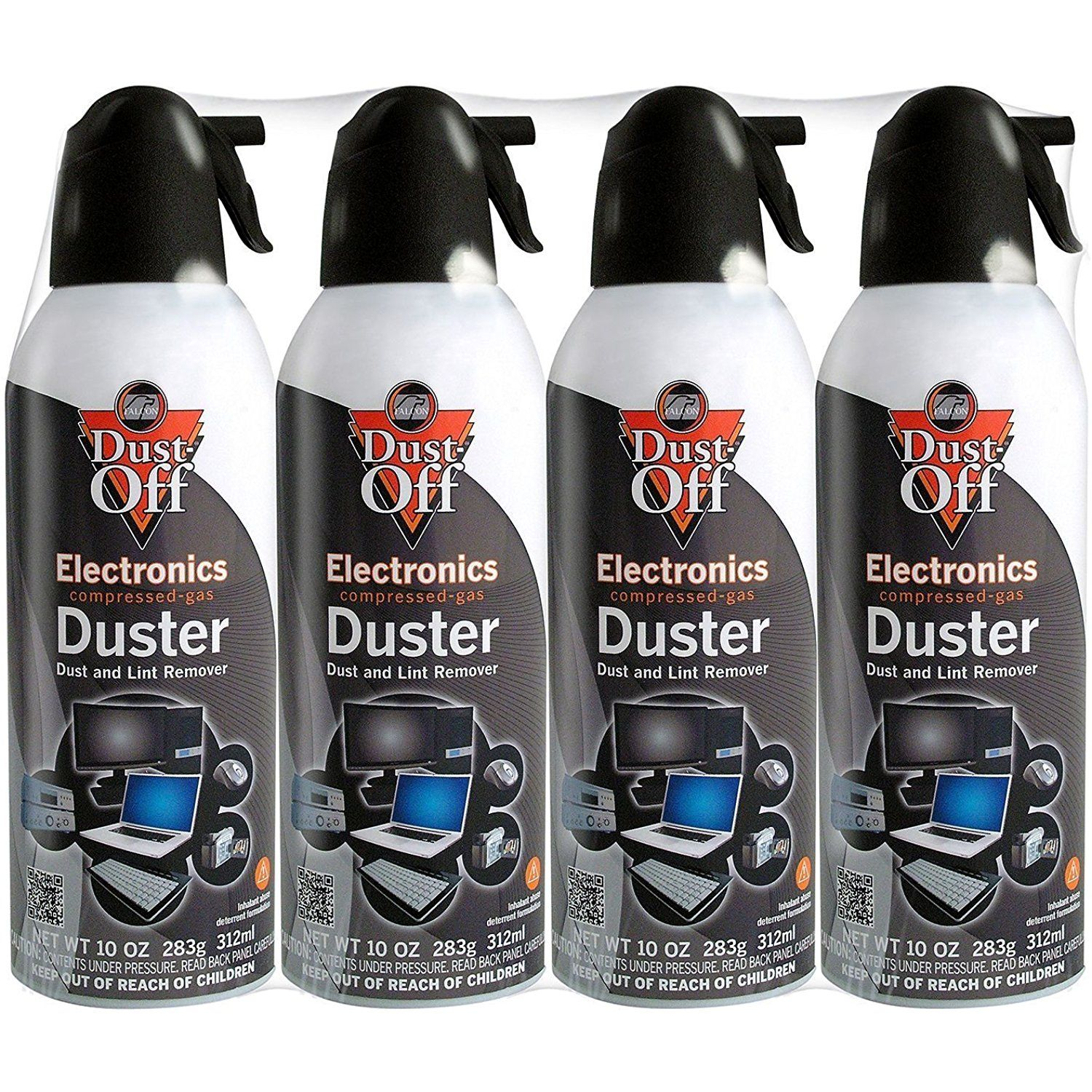 Dustoff compressed gas duster pack of 4 check out