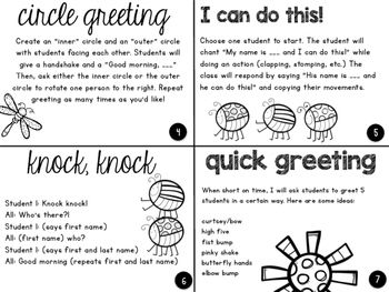 Morning meeting greetings activities 2nd responsive classroom morning meeting greetings activities m4hsunfo