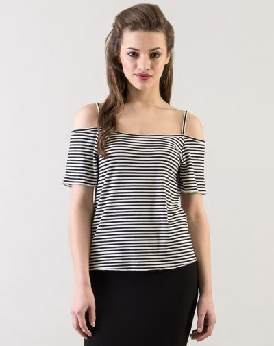 7c1477e16aa Striped Ribbon Top from Stalkbuylove Online Shopping, Ribbon, Diaries,  Clothes For Women,
