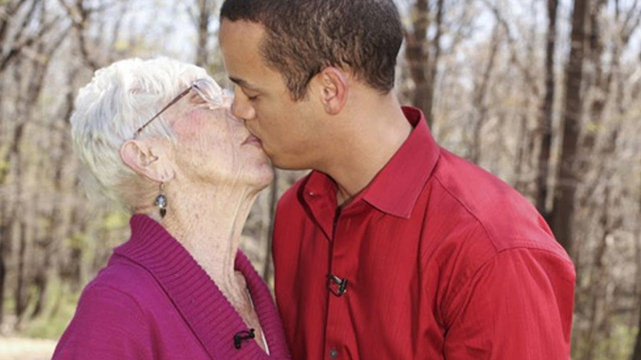 31 year old man dating 91 years old woman