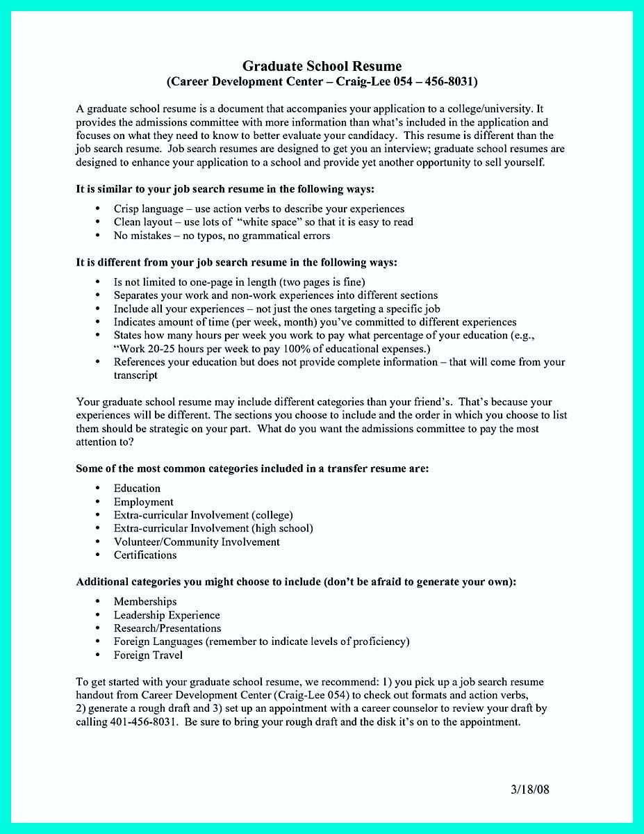 Awesome Write Properly Your Accomplishments In College Application Resume Check More At Http Snef Resume For Graduate School Graduate School Resume Examples