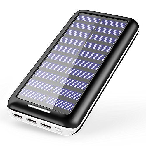 Solar Charger Kedron 22000mah Power Bank Portable Charger With 2 Port Input 3 Usb Output External Battery Pack For Iphone Ipad And Samsun Klookl Solar Charger Solar Panels For Home Solar