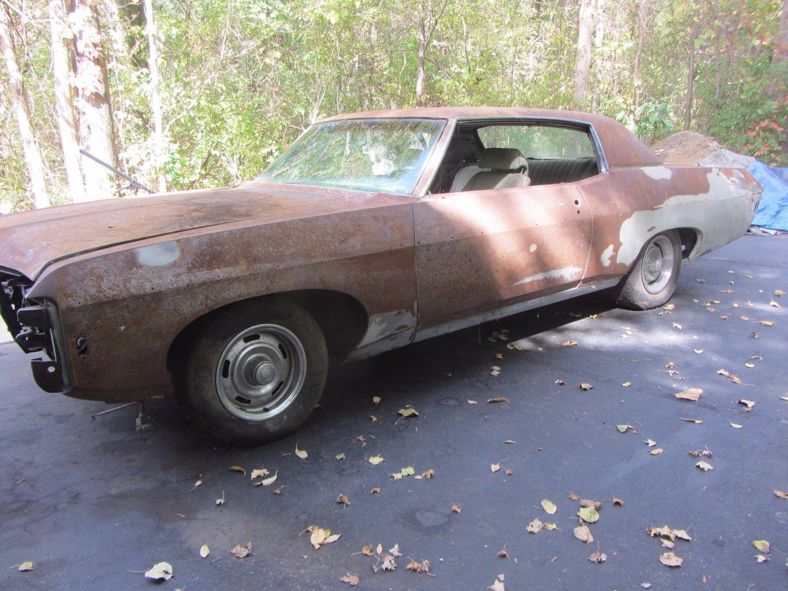 rebuilt engine 1969 Chevrolet Impala project | Project cars for sale ...