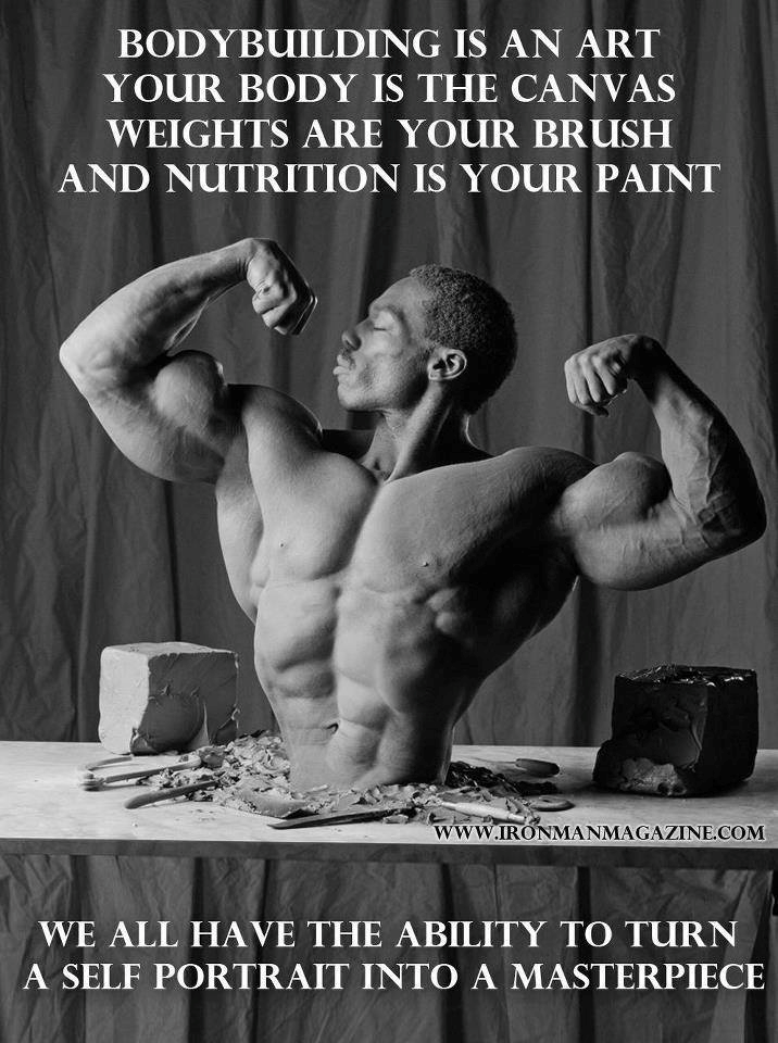 Bodybuilding My Philosophy Exactly Sculpting The Human Body Is The Ultimate Art Form Bodybuilding Motivation Bodybuilding Pictures Fitness Inspiration