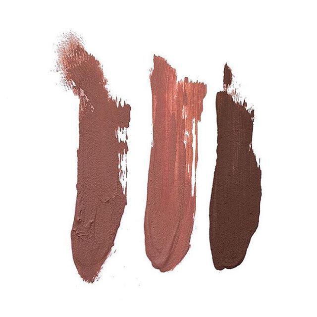 Kylie Lip Kit by Kylie Jenner • Matte Liquid Lipstick • Swatch: Dolce ○ Candy ○ True Brown ️• LAUNCHES ONLINE TOMORROW!! (12pm EST /  9am PST) CYBER MONDAY - November 30th! www.lipkitbykylie.com **Price not yet announced**