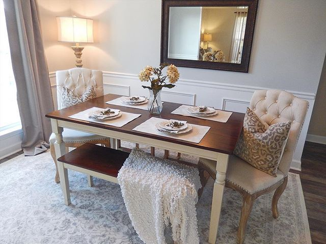 Whitesburg Dining Room Table By Ashley Homestore Brown White