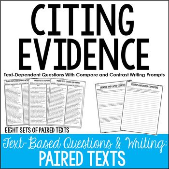 Text Evidence Definition