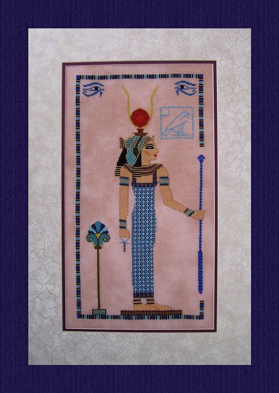 Chart for Hathor Lady of Turquoise Cross by TurquoiseGraphics, $10.00