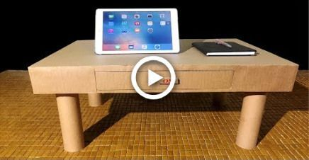 How To Make Desk Organizer Or Drawers From Cardboard -  #cardboard #Desk #drawers #organizer