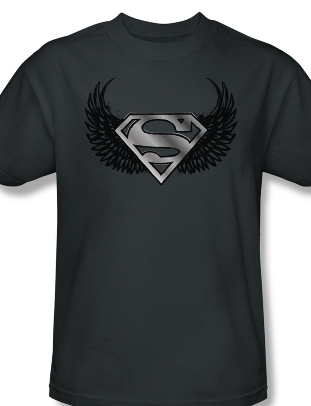 The Legend Superman Logo With Angel Wings Dc Comics Superhero