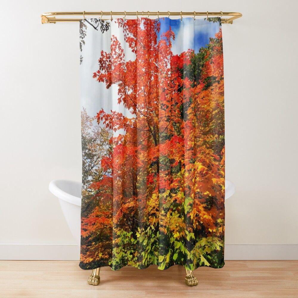 Seaside Scenery Waterproof Polyester Shower Curtain Mermaid Shower Curtain Cheap Shower Curtains Bathroom Window Curtains