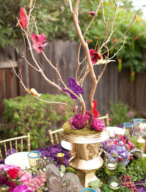 Top 8 mad hatter tea party ideas relief society for Tea party decoration ideas