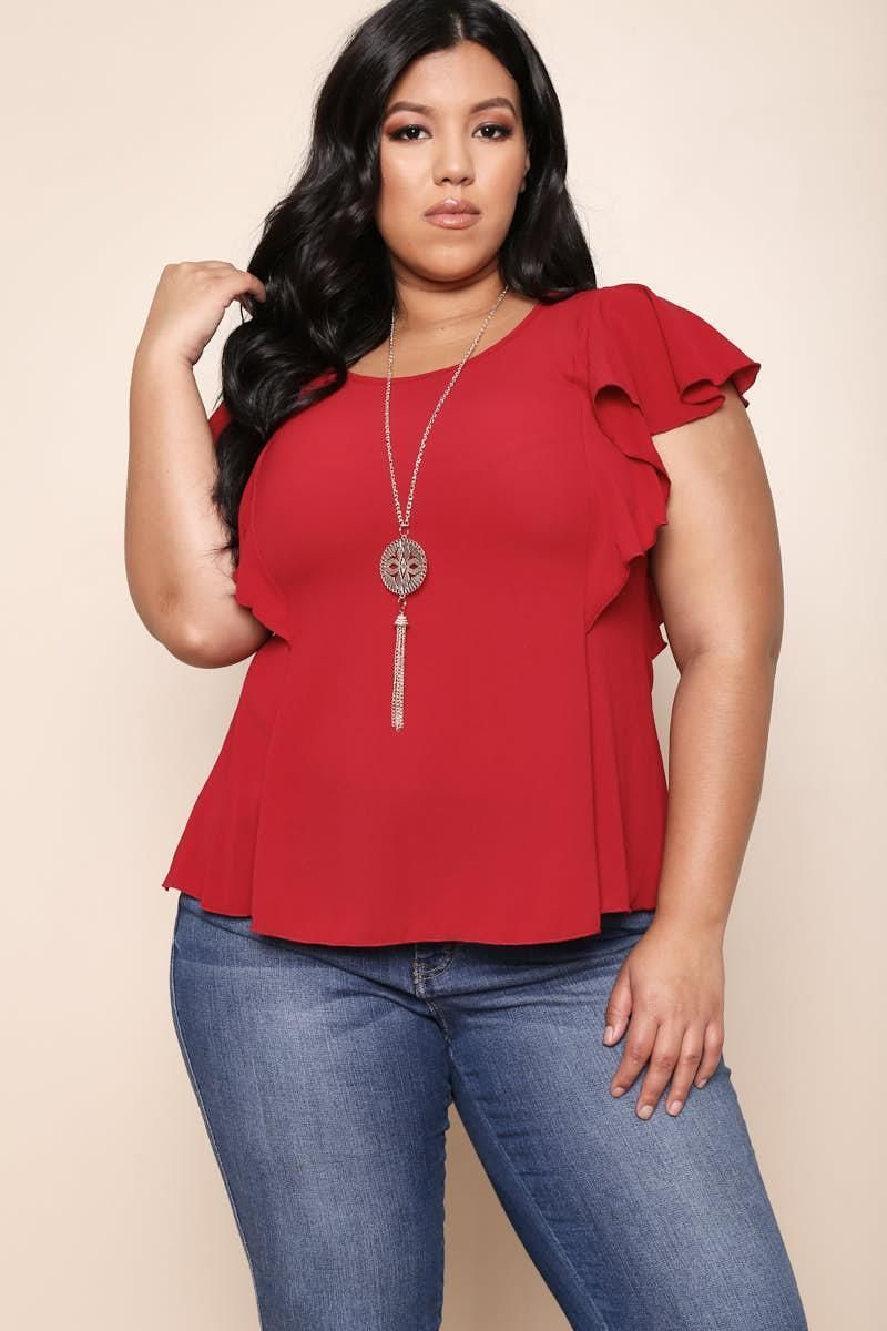 1778b45bdfa60 Plus Size Necklace Top