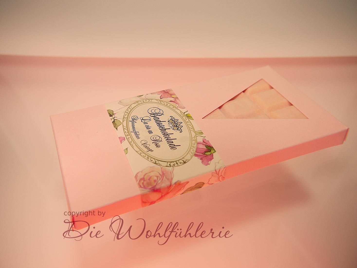 La Vie en Rose - Badeschokolade Rose. So weiblich, so duftend - einfach perfekt!