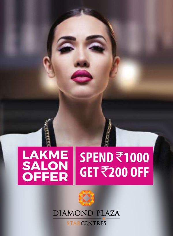 Visit Lakme Salon at Diamond Plaza and get exciting offer  Hurry