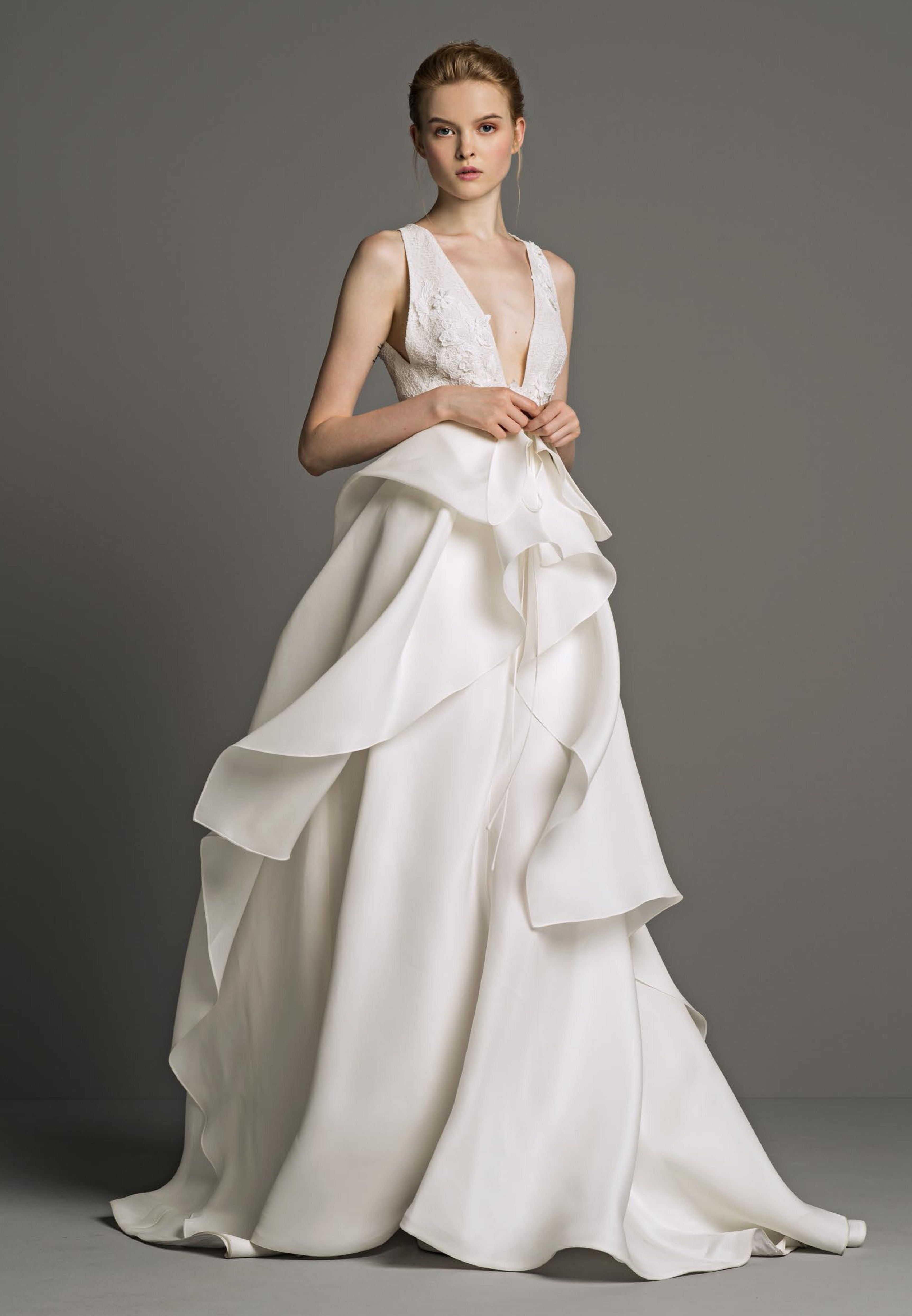 Abiti Da Cerimonia Italiani.Yasmine Peter Langner Weddingdress Con Immagini Vestiti Da