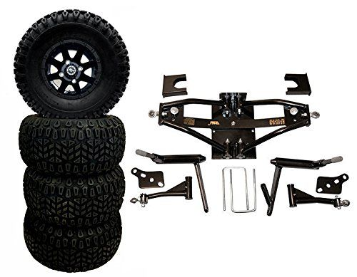 Golf Carts Ideas 6 Lift Kit For Club Car Ds 198403 W 10 Matte Blk Wheels Combo Read More Reviews Of The Product By Visit Lift Kits Golf Carts Black Wheels
