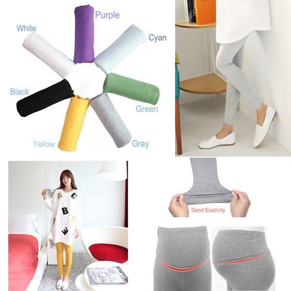7 colores 2015 nuevas mujeres embarazadas ajustable algodón Modal Leggings pantalones de maternidad cómodos Leggings en Leggings de Bebés en AliExpress.com | Alibaba Group