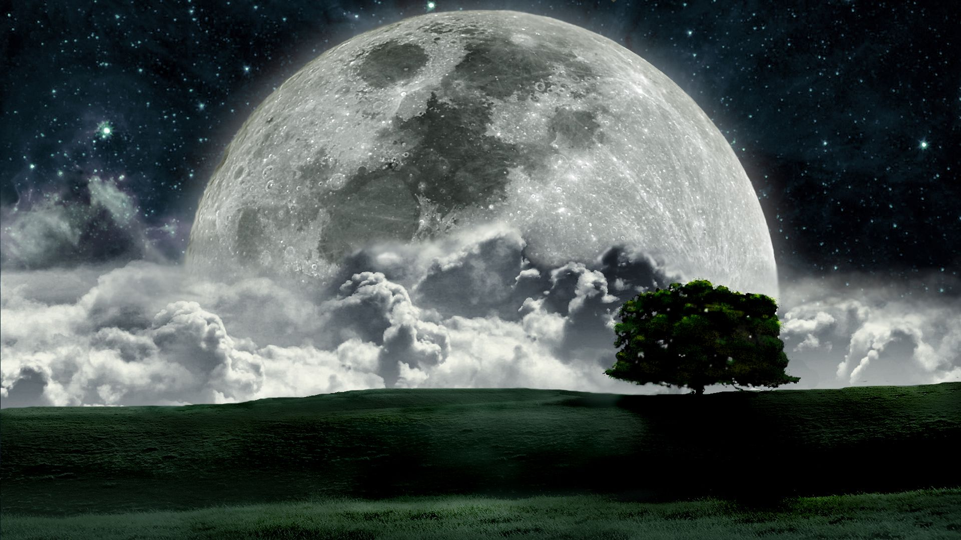 Cool Wallpapers Resolution Wallpaper Moon Photo 1920x1080
