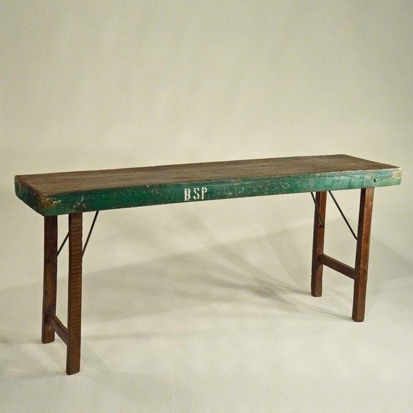 Vintage Tisch Klapptisch Vintage Klapptisch Markttisch